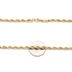 Rope Link Yellow Gold Chain II