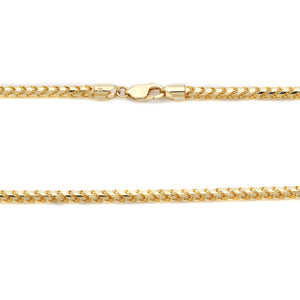 Franco Yellow Gold Chain
