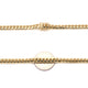 Cuban Link Yellow Gold Chain