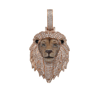 Lion Head Pendant