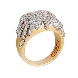 Diamond Drip Ring