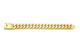 3 Row Diamond Prong Set Cuban Link Bracelet