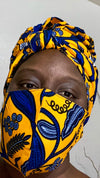HeadWrap/Mask Set
