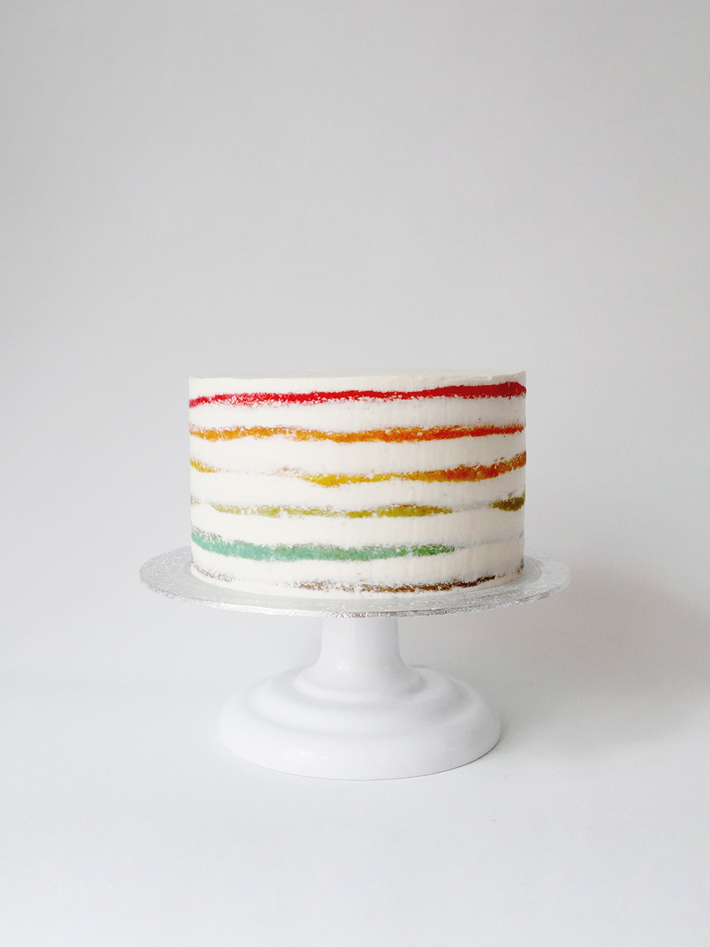 Naked Pride Rainbow Cake by Studio Happy Story