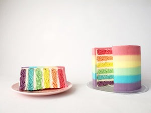 Pride Rainbow Cake by Studio Happy Story