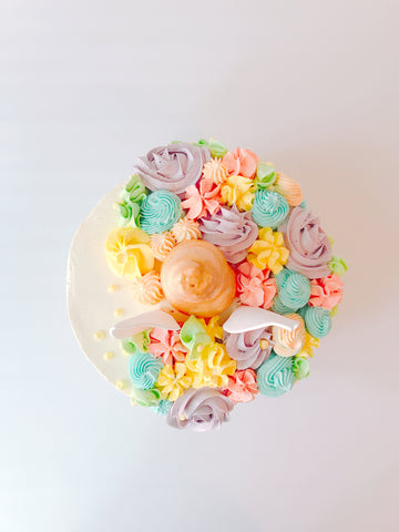 Unicorn cake top