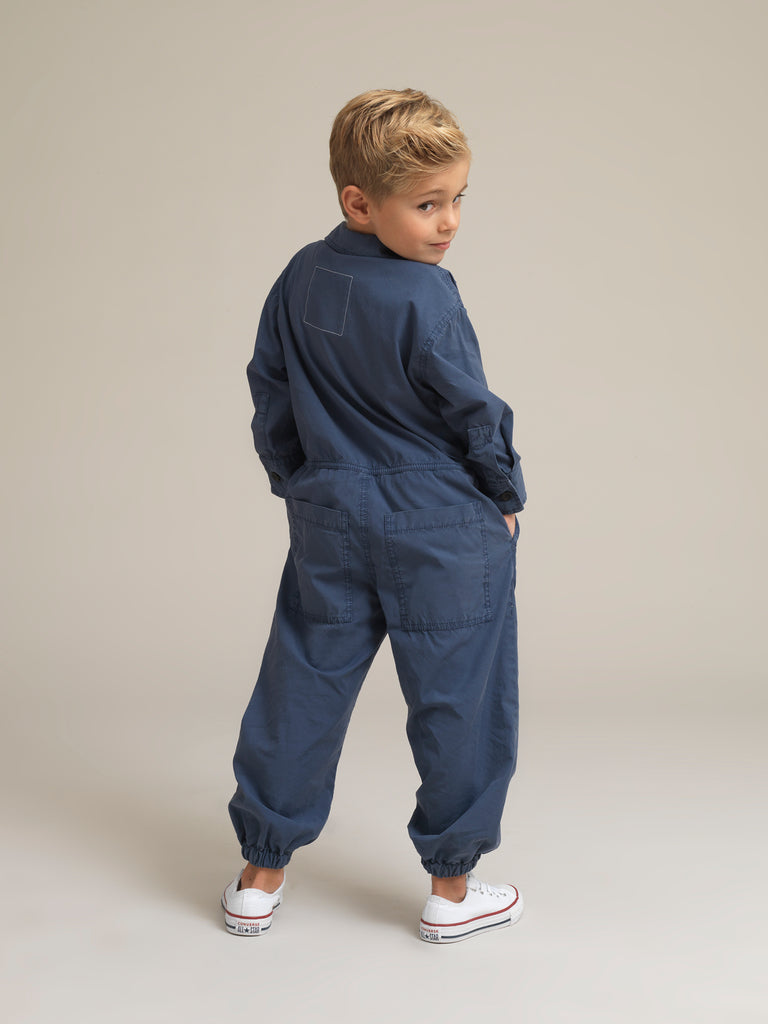 Children's Blue Shirtweight Canvas