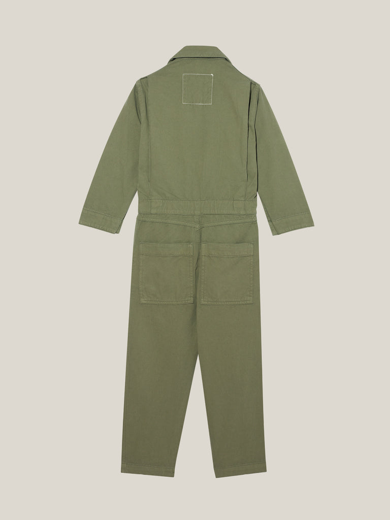 Kids Khaki Twill Boilersuit