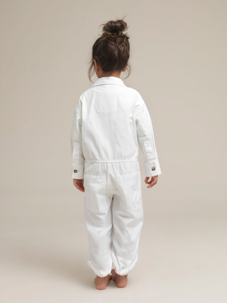 Children's White Shirtweight Canvas