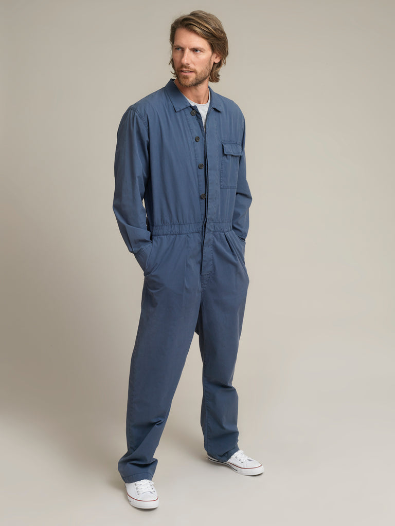 Men's Blue Shirtweight Boilersuit