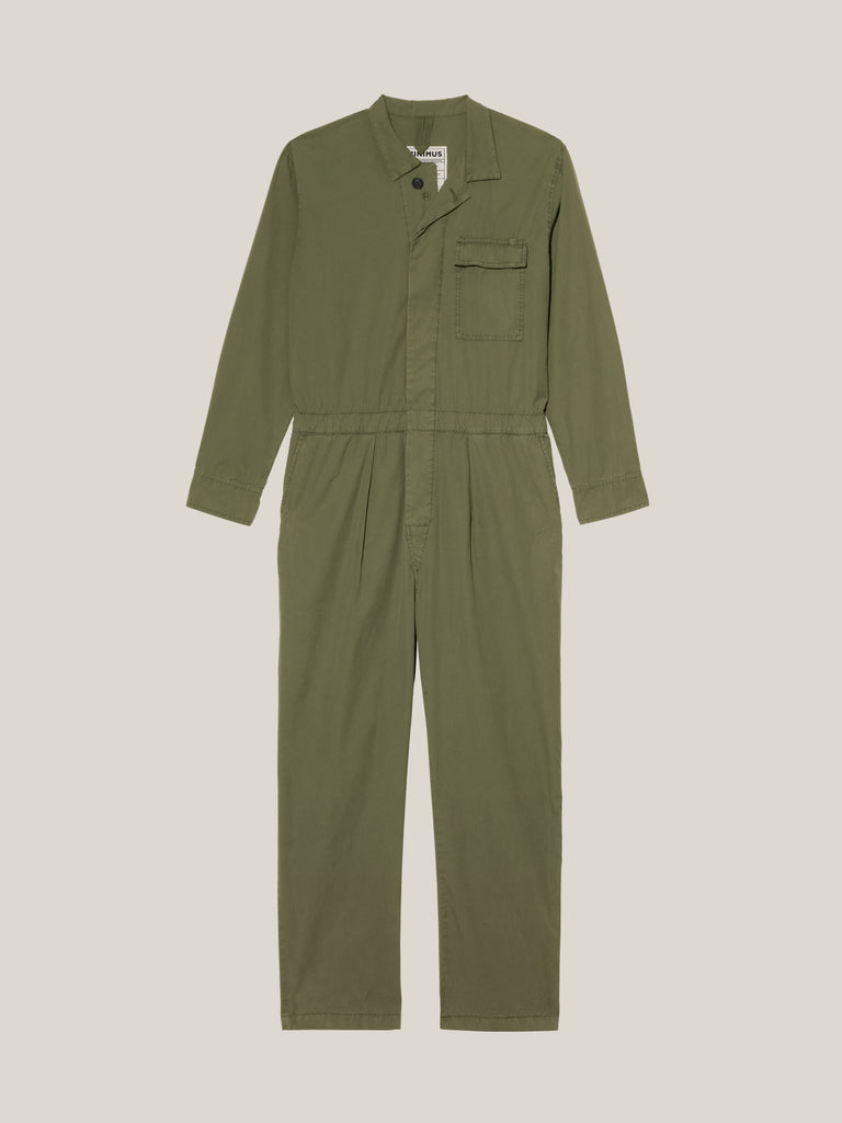 Men's Khaki Shirtweight Boilersuit