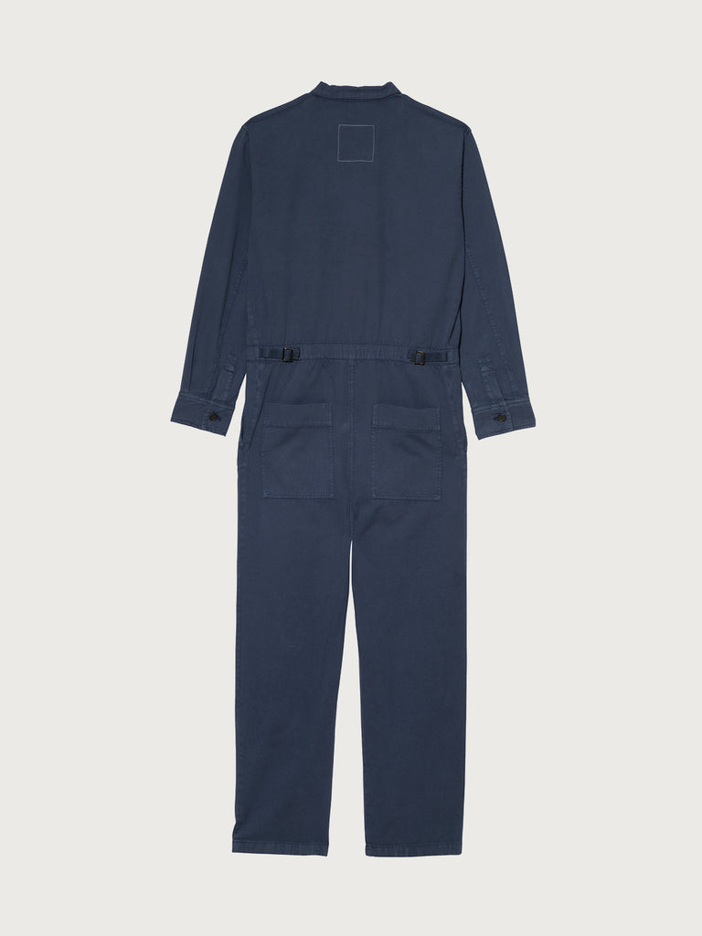 Men's Blue Twill Boilersuit