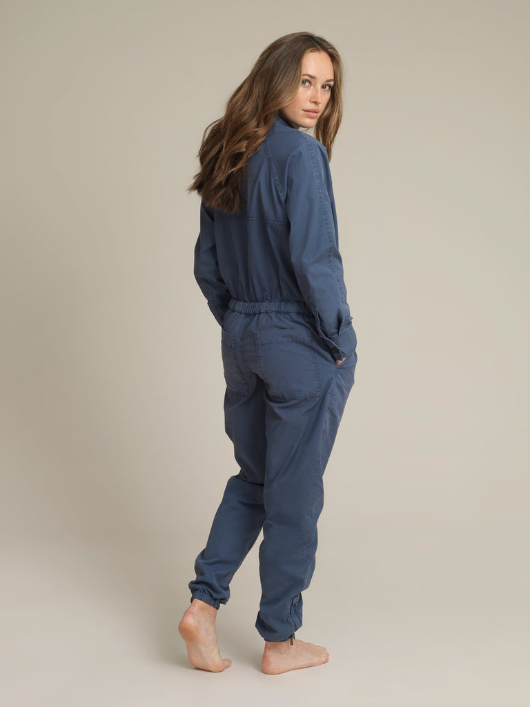 Women's Blue Shirtweight Boilersuit