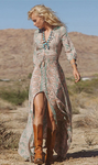 Boho Chiffon Maxi Dress