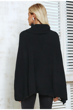 Turtleneck Cloak Sweater