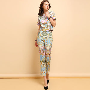 Short Sleeve Set Suit