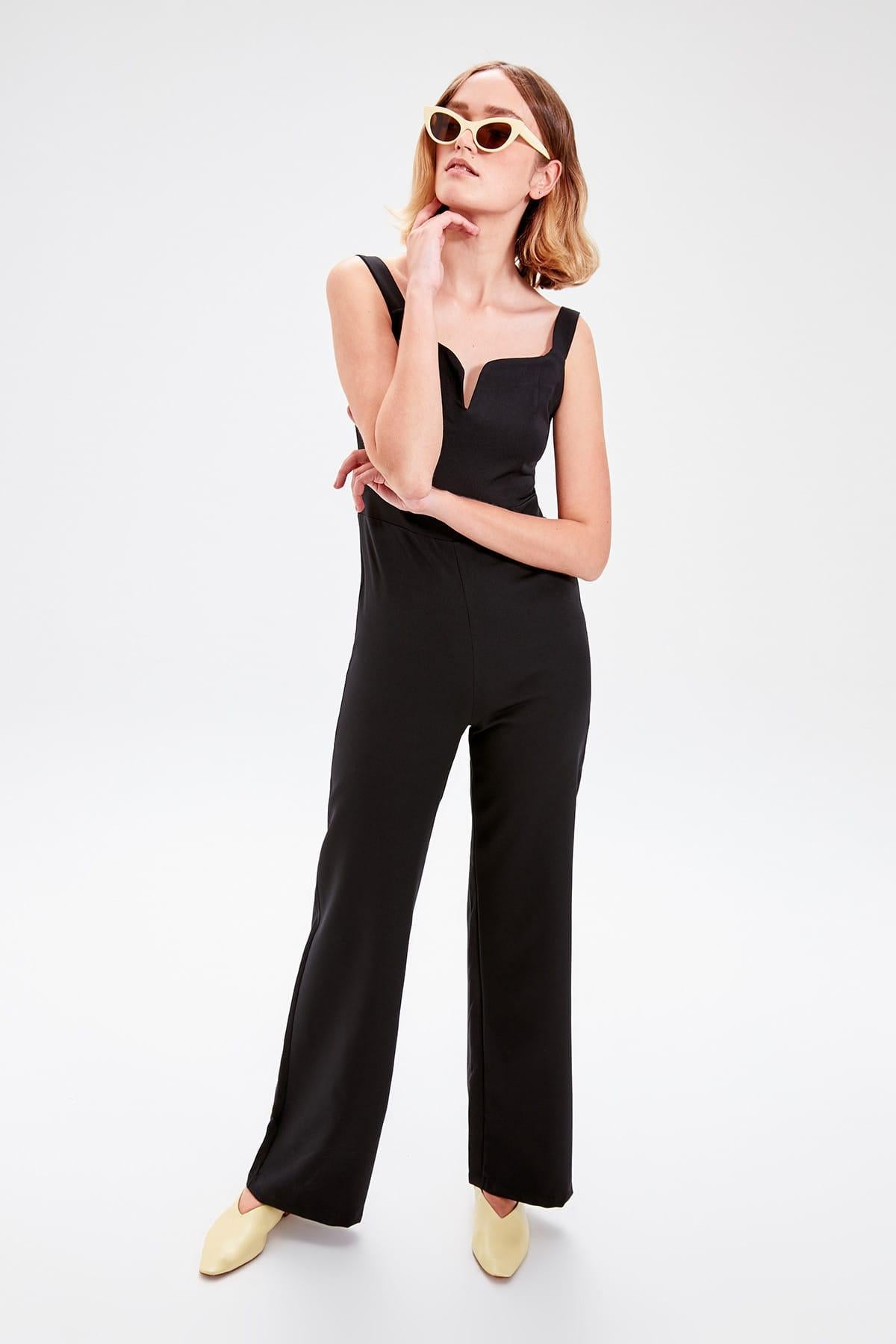 Black Halter Jumpsuit