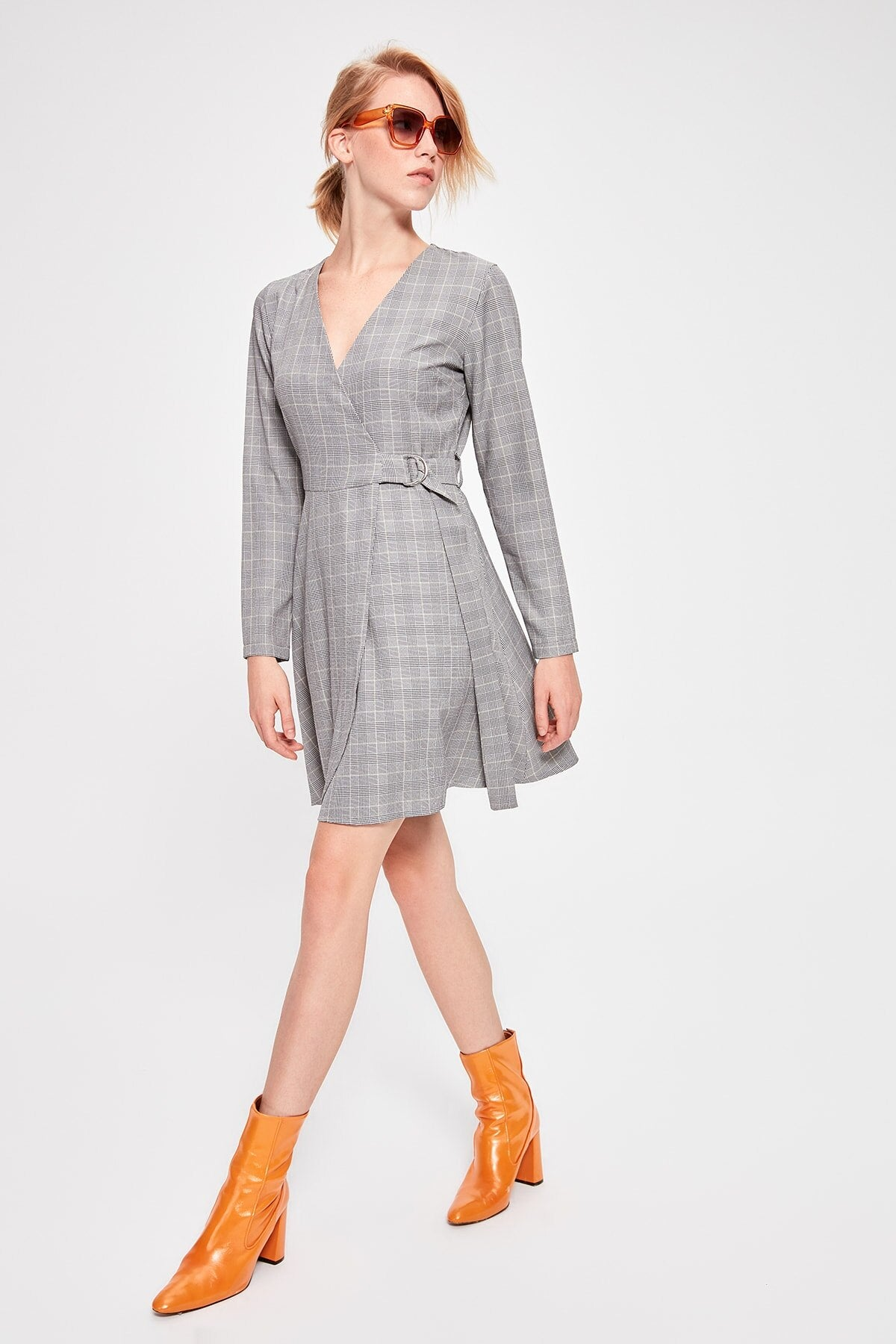 Plaid-Dress - emuuz.com