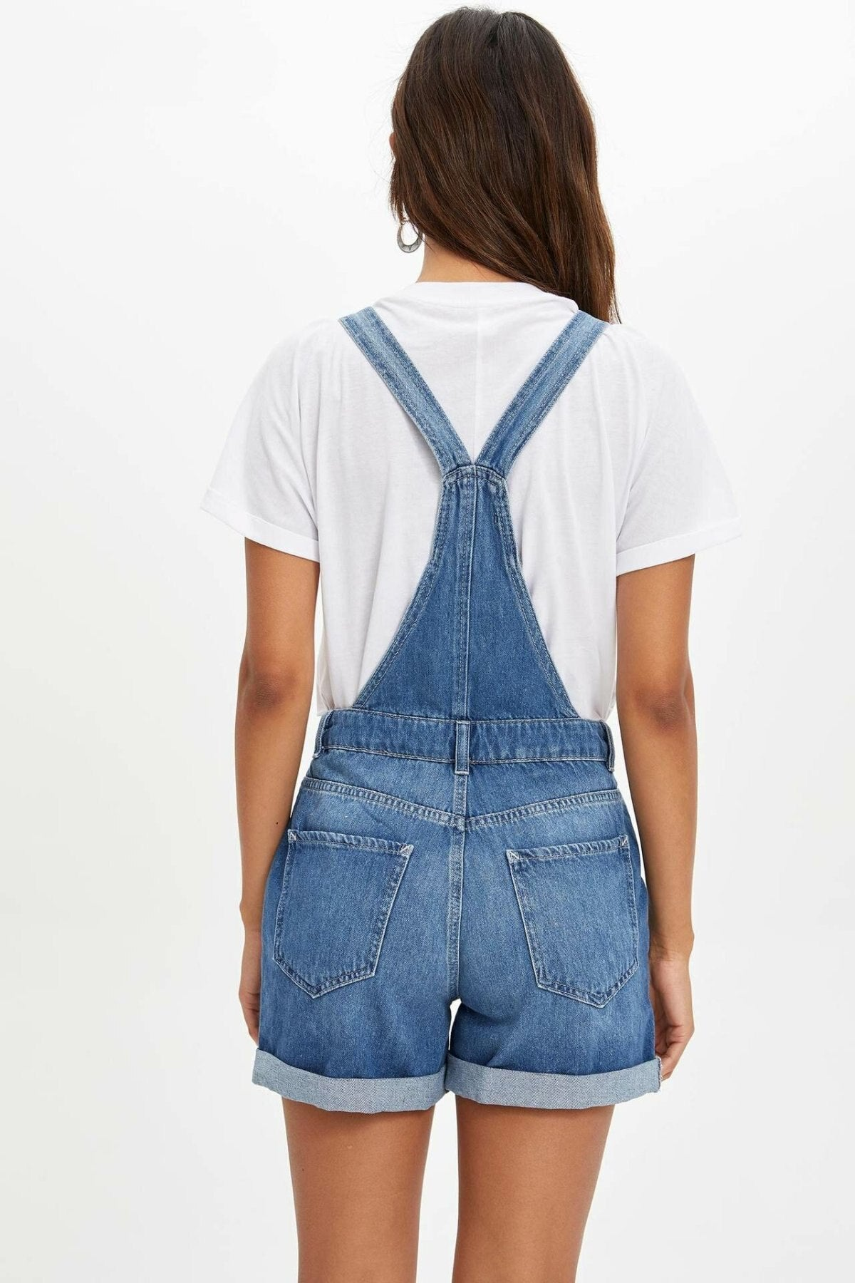 Casual Button Jumpsuits - emuuz.com