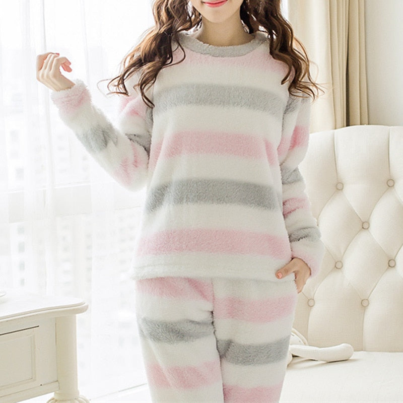 Velvet Pajamas Set