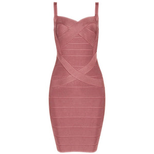 Bandage Mini Dress