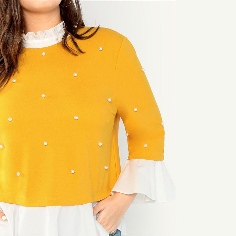 Butterfly Sleeve Blouse