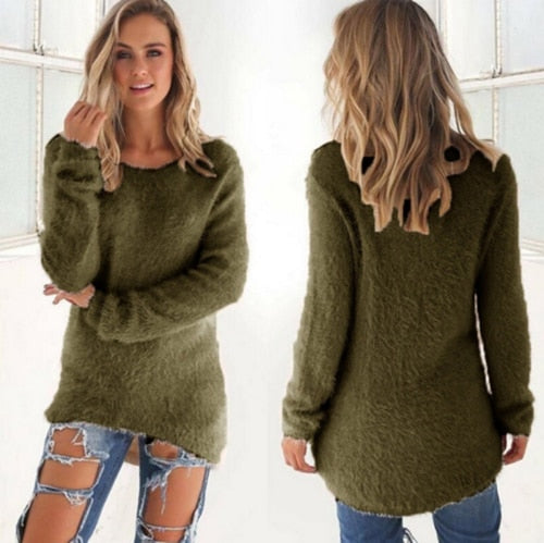 O Neck Sweater
