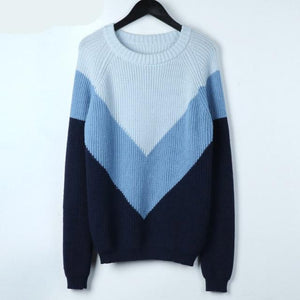 O-Neck Knitted Sweater