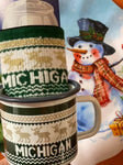 Michigan Sweater Set - Mug & Koozie