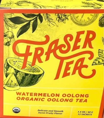 Fraser Tea - Watermelon Oolong