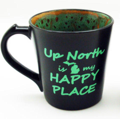 Up North is my Happy Place Mug