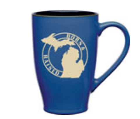 Michigan 24oz Born & Raised Mug