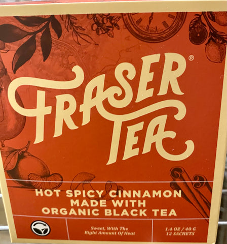 Fraser Tea - Hot Spicy Cinnamon
