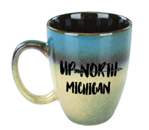 Up North Michigan Arrow Mug