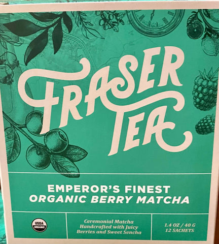 Fraser Tea - Berry Matcha