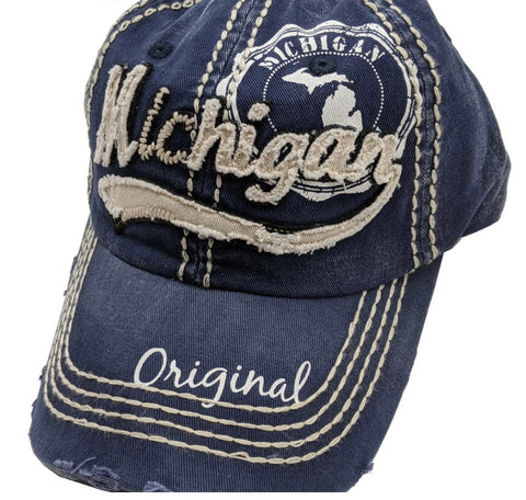 Michigan Original Navy Baseball Cap