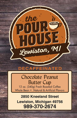 Decaffeinated Chocolate Peanut Butter Cup