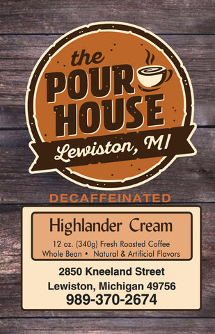 Decaffeinated Highlander Cream