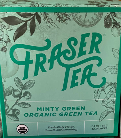 Fraser Tea - Minty Green
