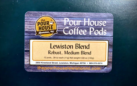 Lewiston Blend 12 Pack K-Cup Pods