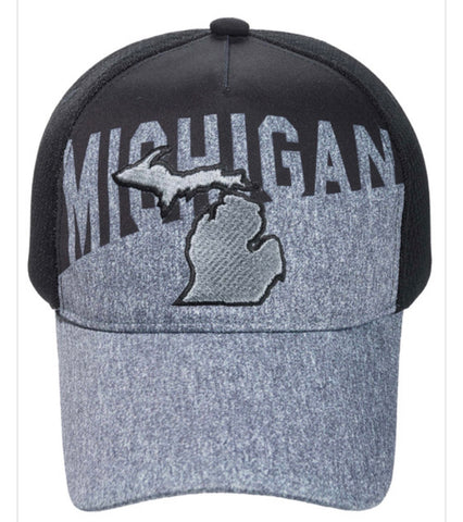 Michigan Diagonal Cap