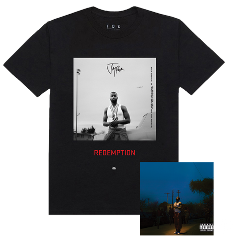 REDEMPTION - Black T-shirt + Digital Album