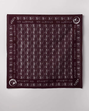 Stickett Inn Plum – Bandana
