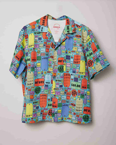 Aqua Tags – Camp Shirt