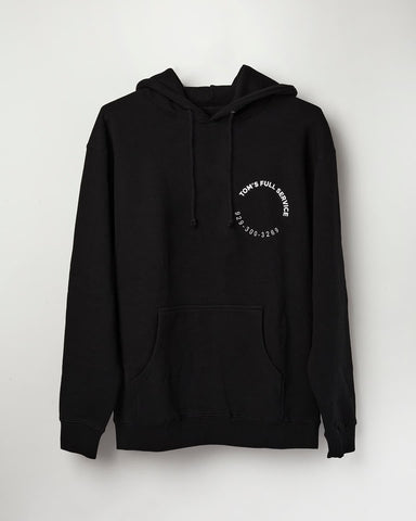 Black Full Service David – Hoodie