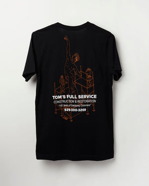 Black Full Service Dancer – T-shirt