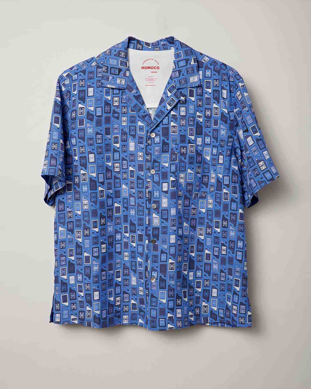 Blue Bottles – Camp Shirt