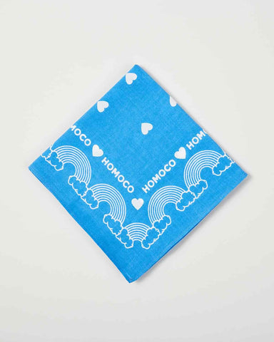 Blue Rainbow – Bandana