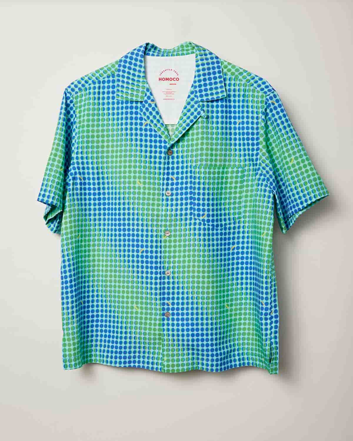 Green Moons – Camp Shirt