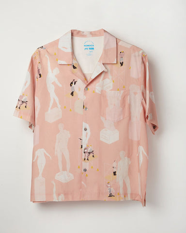 Peach Tom's Full Service – Camp Shirt **PRE-ORDER**